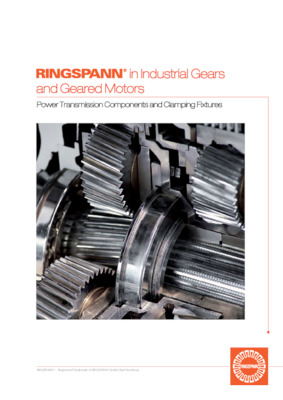 Industrial Gears and Geared Motors