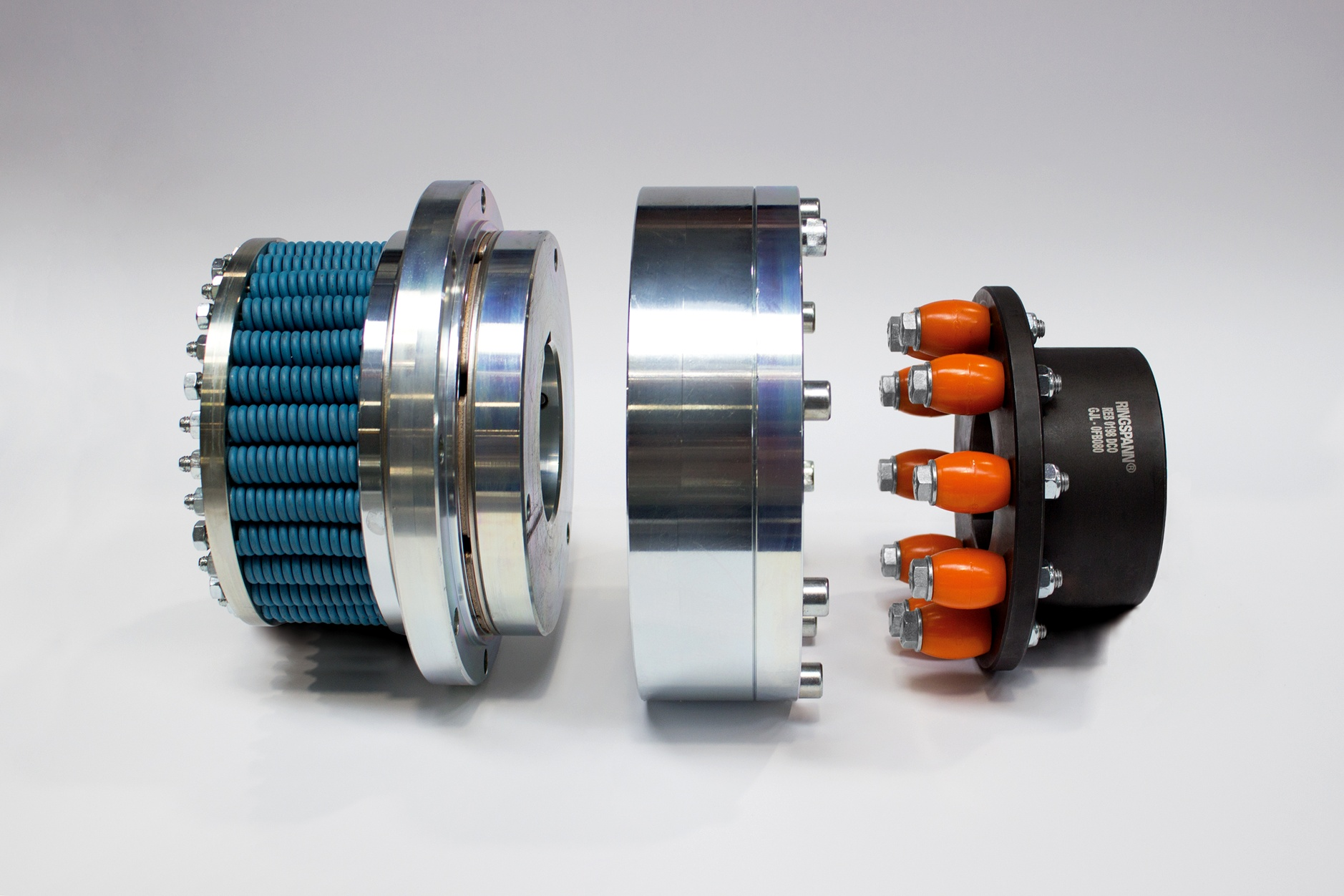friction torque limiter – flange – pin and bush coupling